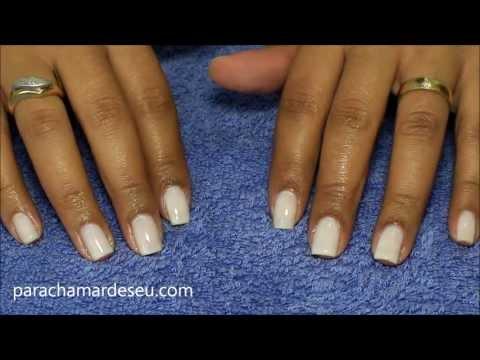Como fazer e cuidar das unhas sem tirar as cutículas