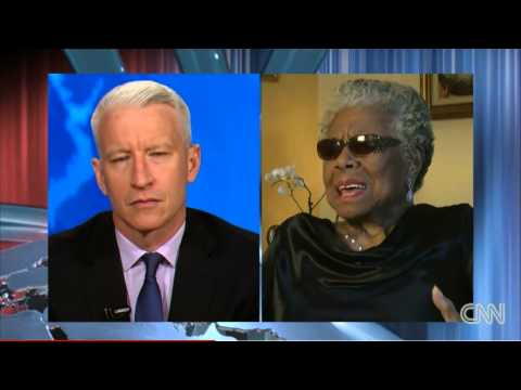 Anderson Cooper and Maya Angelou UNCUT interview 08/28/2013 PART 2