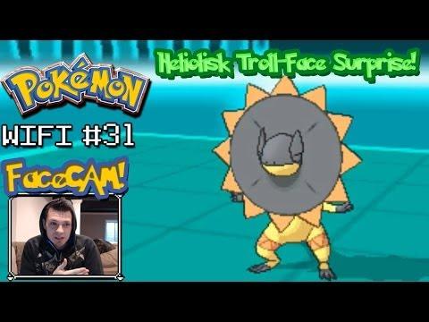 Pokemon X and Y Wifi Battle #31: Vs. Mr.AGeezie   Heliolisk Troll-Face Surprise! [FaceCAM]