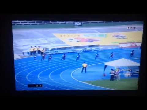 200mWomen- Jamaica Senior Trials 2014