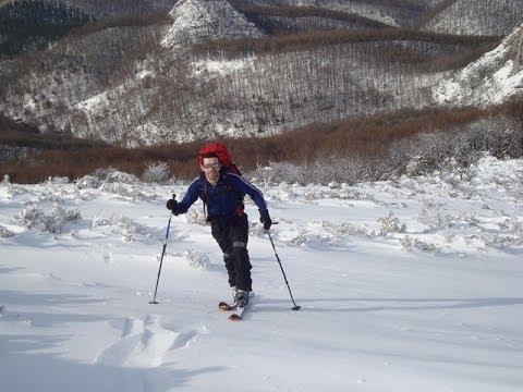 Ascensión y descenso con esquís de Enaitz, Artzanburu y Butreaitz