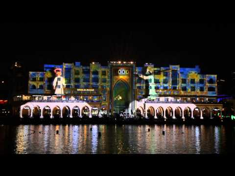 Dubai Festival of Lights 2014 - Prince of Light