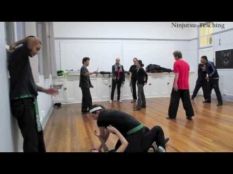 Ninjutsu: Grading, Techniques, Joint Manipulation, Atemi Jutsu, Ground, Knife, Staff, Kukri, Belt