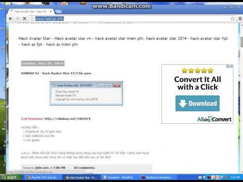 Hướng Dẫn Hack Avatar Star