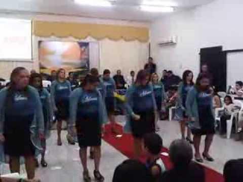 Grupo de gesto  Adonai - A carta (Eliã Oliveira)