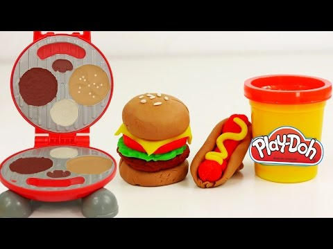 Play doh videos food huge play doh picnic adventure for Play doh cuisine