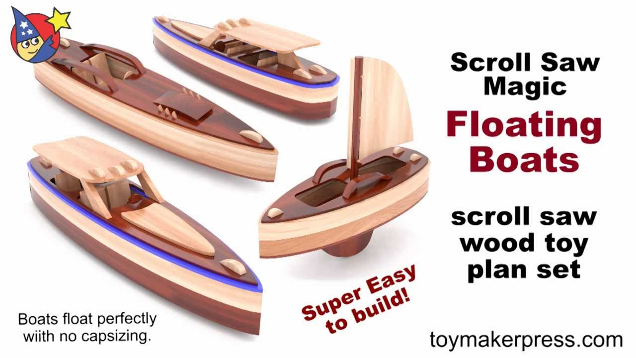 Wooden Toy Boat Plans