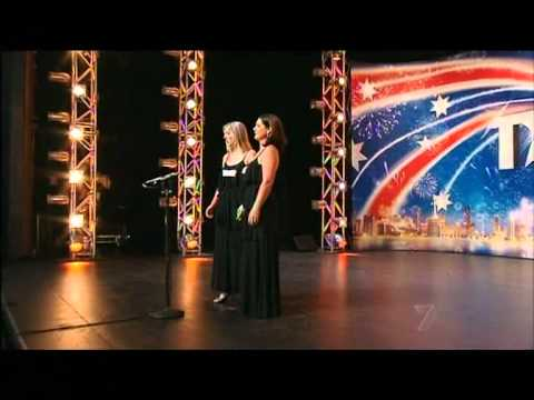 Divalicious - Sister Singers -  Australia's Got Talent 2012 audition 5 [FULL]