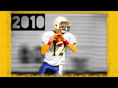 Youth Quarterback Brian Sutter Jr. (2010) Football Highlights, Texas, 8th Grade (MH)