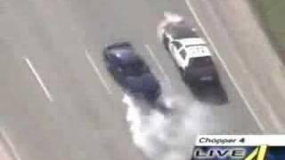 Persecución policial a conductor experto