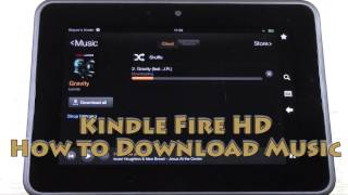 Kindle Fire HD How To Download Music
