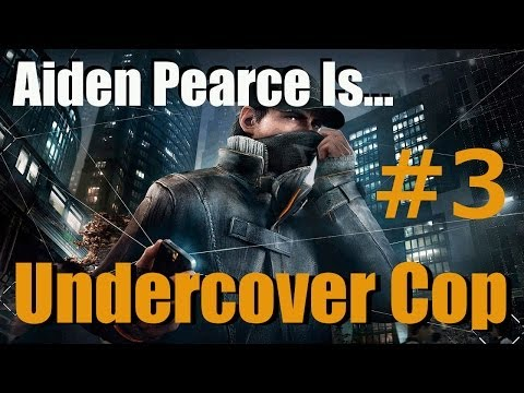 Watch Dogs Funny Moments Funtage (PS4) - Undercover Cop Episode #3 - Evade 5* Chase