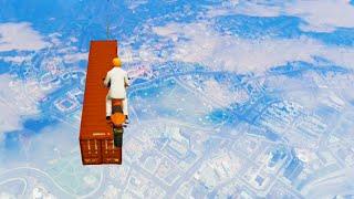 Impossible Air Bike Race (GTA 5 Funny Moments)