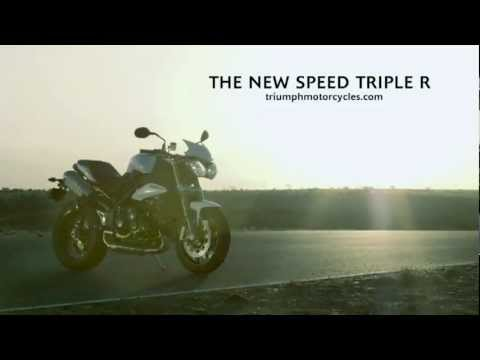 2012 Triumph Speed Triple R official video