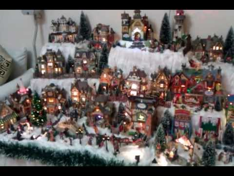 Lemax Christmas Village Display Day 2011 By Julia 3gp