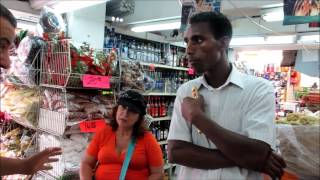 Israeli Citizen Talks With Eritrean Refugee About The