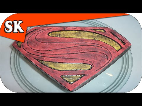 Man Of Steel Superman Cake Recipe Youtube