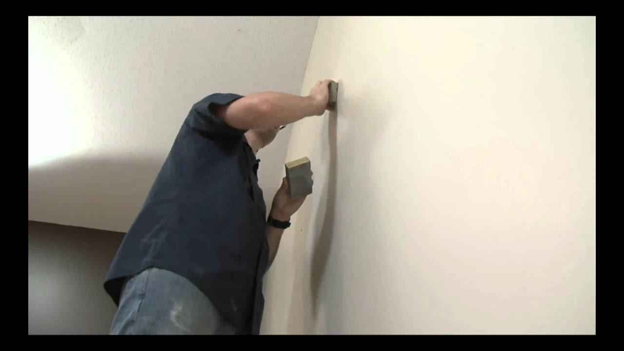 comment r parer un trou sur mur de gypse youtube. Black Bedroom Furniture Sets. Home Design Ideas