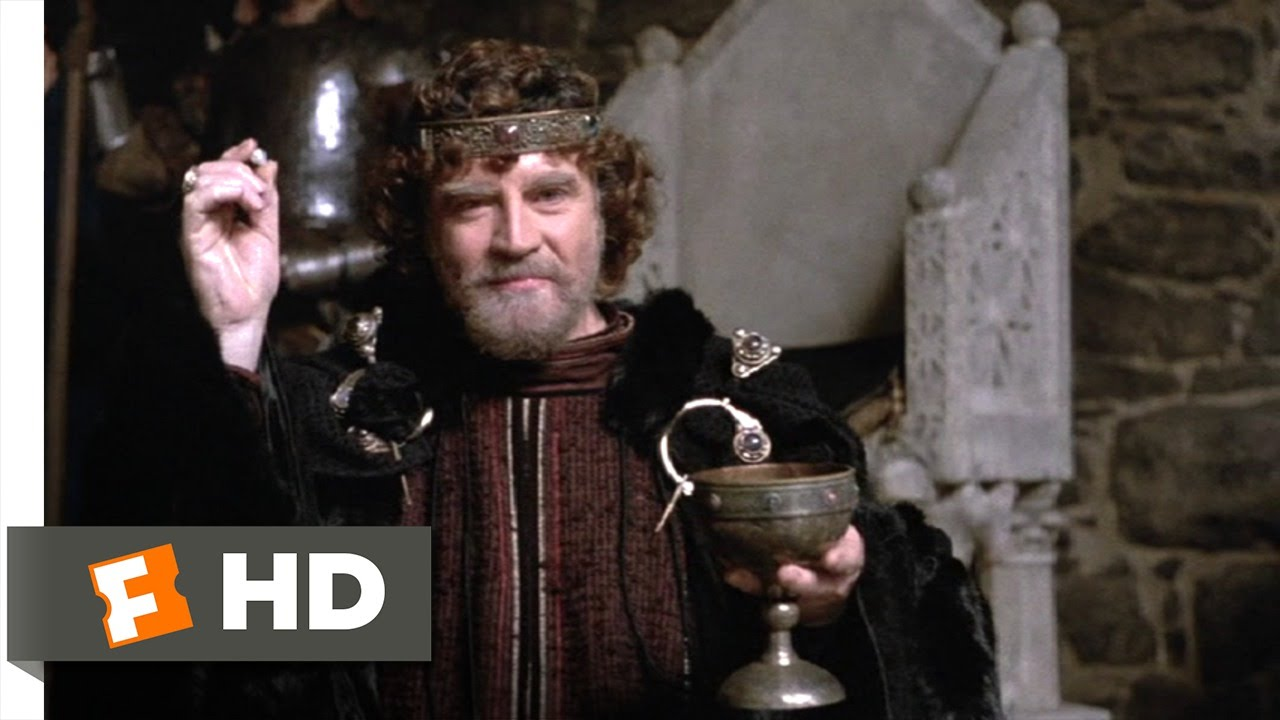 Hamlet (9/10) Movie CLIP - The Poisoned Cup (1990) HD ...