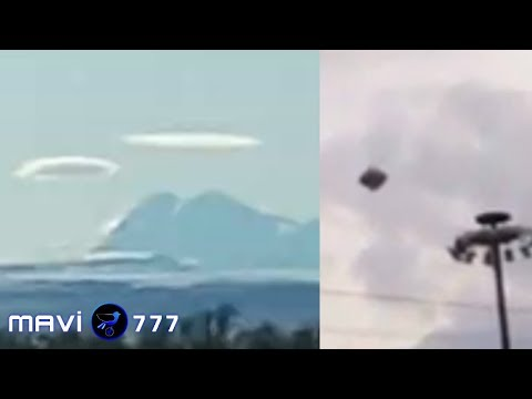 Strange Noises l Giant Spaceship Hiding In The Cloud l Moon Anomaly