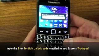 How To Unlock Blackberry Bold 9790 By MEP Unlocking Code