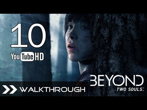 Beyond Two Souls Walkthrough - Gameplay Part 10 (Chapter 14: Navajo - Fort Crown, Forked Tree & 5th Talisman) HD 1080p PS3