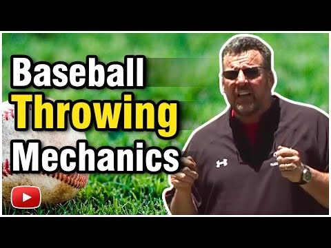 Baseball Tips and Techniques - Throwing Mechanics -  Featuring Tom Waddell