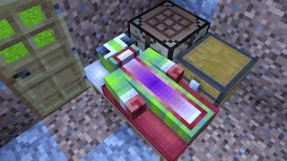 MY FIRST NIGHT OF PLAYING MINECRAFT...