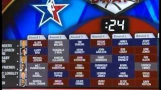 NBA greatest players of all time draft