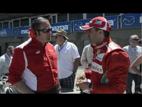 Ferrari Formula 1 2003AG 2012 Marc Gené rompe el récord por elmexicanodeportes Parte 3