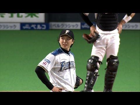【プロ野球パ】上沢打たれる...ブランコが甘い球見逃さず 2014/05/23 F-DB