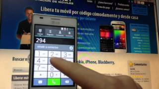 Liberar LG E610 Optimus L5 Por Código, Movical.Net