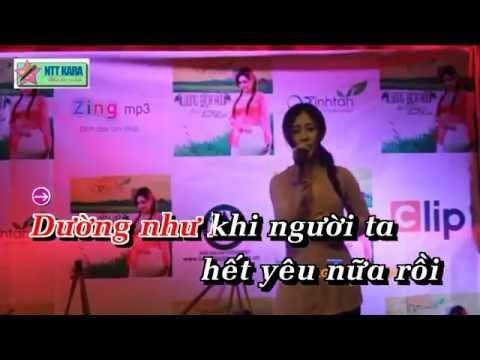 Lương Bích Hữu - Đứt Từng Đoạn Ruột ( karaoke)