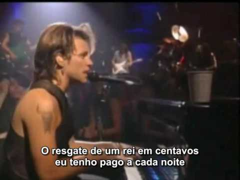 Bon Jovi - Bed Of Roses  (legendado)