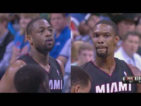 2014.02.20 - Dwyane Wade & Chris Bosh Full Combined Highlights at Thunder