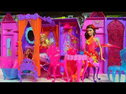 Barbie and the Secret Door Play 'n Store Castle Playset - Barbie Doll Collection