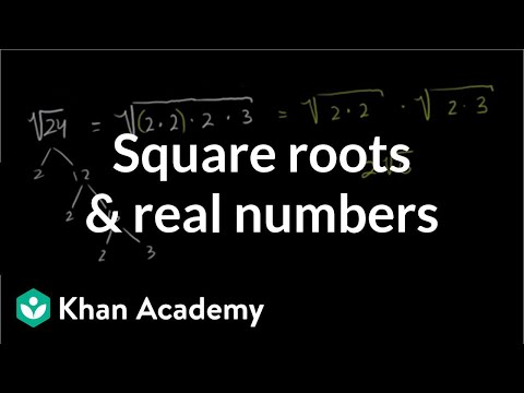 Square Roots and Real Numbers