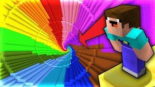 Minecraft | Cùng NOOB Chơi Dropper Cầu Vồng!!