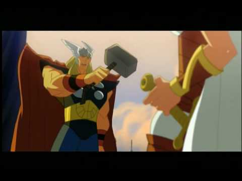 Hulk Vs Thor Animated Film: Hulk Gets the Hammer!