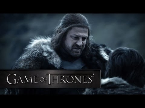 Game of Thrones Trailer, One of the first trailer/previews of Game of Thrones.