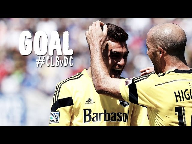 GOAL: Hector Jimenez curls in a late equalizer | Columbus Crew vs. D.C. United