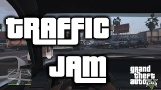 GTA V traffic jam goes out of control