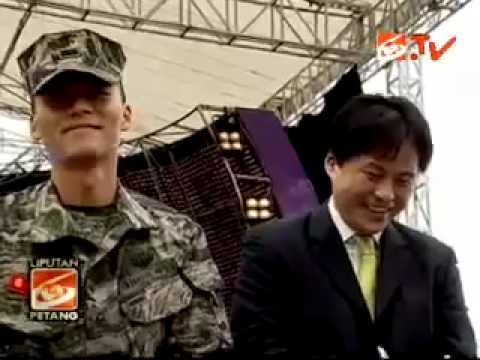 HYUN BIN - Pfc. Kim Tae Pyung's Activities in Indonesia 2011-10-06