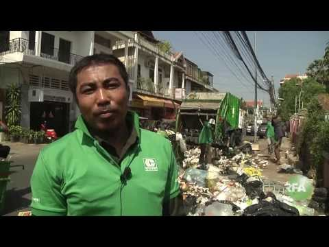 Trash Collectors Care about Sanitation in Phnom Penh