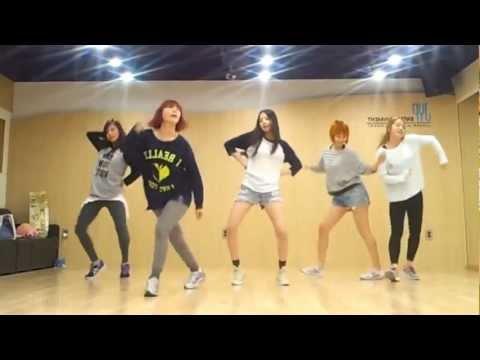 Wonder Girls 'Like This' mirrored Dance Practice