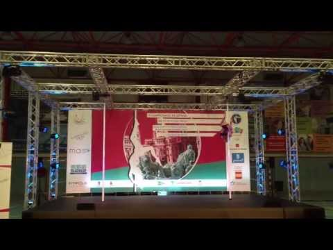 Jennifer Blanco II Campeonato de Pole Sport España 2013