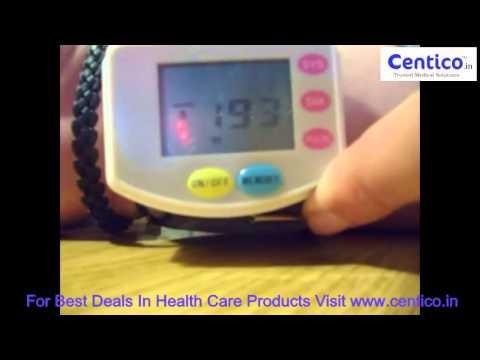 1 5  Fully Automatic Wrist Style Digital Blood Pressure Monitor 2 AAA