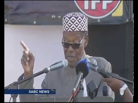Buthelezi does not believe elections will be free and fair