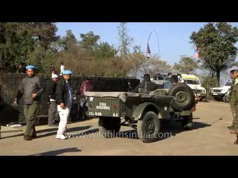 People gathered for world War-II peace rally as a tribute to battle of Kohima