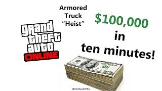 """GTA 5 Online Heist Walkthrough"" Armored Car Heists"